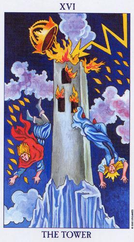 Karta Tarota - Wieża